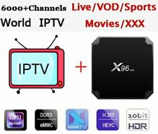 X96 mini Android box with HD IPTV Subscription 1 year 6000+ Channels VOD Movies