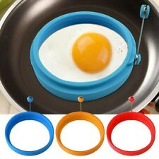 Silicone Egg Mold Kitchen Cooking Tools Round Egg Rings Pancake Mold Ring W