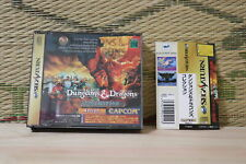 Dungeons & Dragons Collection w/spine card Sega Saturn SS Japan VG+ Condition!