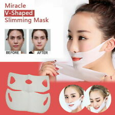 Miracle V-Shaped Slimming Mask Face Care Slimming Mask (1/2 Pieces/Set) AC