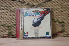 J League Victory Goal 97 Sega Saturn SS Japan Very Good Condition!