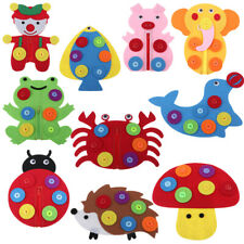 1pc Learn to Dress Animal Design Toy Early Learning Basic Life Skills Toys