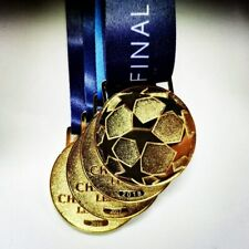 Europe Football League Final Champion Club Gold Medal Fan Collection 1:1