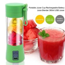 380ml USB Rechargeable Blender Mixer Portable Mini Juicer Machine Smoothie Maker