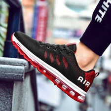 Mens Air Cushion Fashion Sports Sneakers Casual Shoes Jogging Walking Synthetic