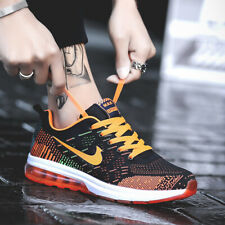 Mens Athletic Sneakers Air Cushion Sports Running Shoes Non-slip Sole Breathable