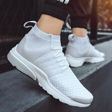 Men's Athletic Sneakers Mesh Breathable Sock Shoes Fashion Casual Walking Shoes