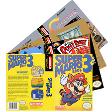 Nintendo NES (D-F) Re*placement C-a-s-e & Art+Work