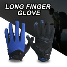 1 Pair Full Finger Cycling Gloves Racing Bicycle MTB Bike Long Finger Gloves