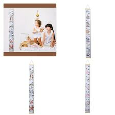 Portable Height Growth Chart Wall Hanging for Kids and Babies Bedroom Accs