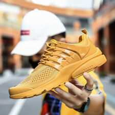 Men's Mesh Running Shoes Outdooe Casual Sports Sneakers Breathable Rubber Sole