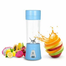 380ml Juicer Cup Portable Protein Fruit Blender USB Rechargeable Juice Maker