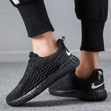 Men's Casual Shoes Running Fish Scales Fashion Sneakers Breathable Outdoor Mesh