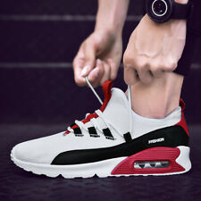 Men's Casual Sneakers Air Cushion Sports Running Walking Shoes Mesh Breathable