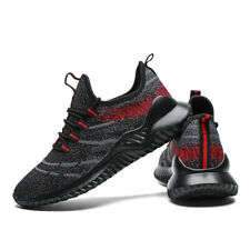 Mens Athletic Sneakers Lightweight Running Shoes Mesh Breathable Sports Shoes