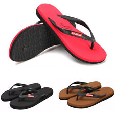 Womens Flip Flops Summer Sandals Flat Beach Holiday Shoes Comfort Toe Plus Size