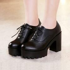 Winter Womens Warm Fur Inside Lace Up High Wedge Platform Ankle Snow Boots Shoes