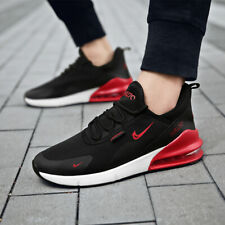 Men's Air Cushion Athletic Sneakers Sports Running Jogging Shoes Mesh Breathable
