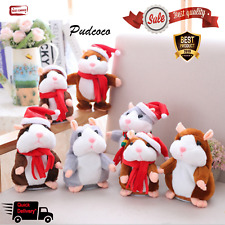 Cheeky Hamster Talking Pet Soft Toy Cute Sound 2019 Christmas Kids Gift Xmas