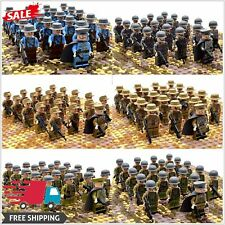 Classic Military Soldiers Army Figures lego Building Blocks Bricks Troops 21Pcs