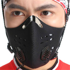 Bike Bicycle Riding Mask Gas Filter Protection Face Head Respirator Anti-DusHFCA