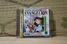 Neon Genesis Evangelion Sega Saturn SS Japan Very Good Condition!