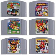 N64 Mario Kart 64 - Party 1 2 3 -- Video Game Cartridge For Nintendo N64 Console