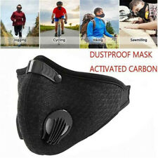 Respirator PM2.5 Anti-Dust Mask Filtered Activated Carbon Breathable Valve Mask