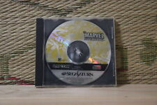 Marvel Super Heros no manual edition Sega Saturn SS Japan Very Good+ Condition!