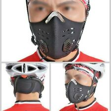 Cycling Mask Half Face Comfortable Adjustable Breathable Winter Dustproof Warm