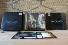 Policenauts w/spine card Sega Saturn SS Japan Very Good Condition!
