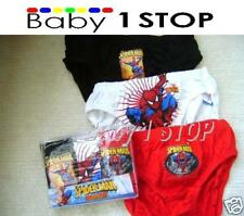 Spiderman 3 Pack Boys Briefs / Pants Sizes 2 -10 YearS
