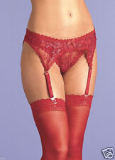 VACARI THONG & SUSPEDER BELT NEW ONE SIZE RED OR WHITE