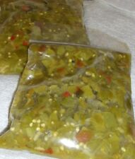 MEDIUM-HOT Roasted, Peeled, Chopped GREEN CHILE FROM HATCH NEW MEXICO