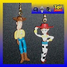 DISNEY TOY STORY CHARACTERS CEILING FAN PULLS  (2 FIGURES)-BUZZ, WOODY, REX, ETC