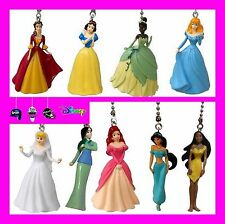 DISNEY PRINCESS GOWN DRESS CEILING FAN PULLS (CHOICE OF 2) AURORA, BELLE, ETC..