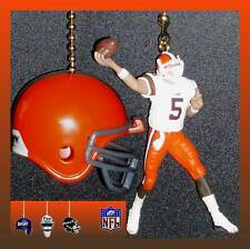 NFL CLEVELAND BROWNS QUARTERBACK FIGURE & CHOICE OF HELMET CEILING FAN PULLS