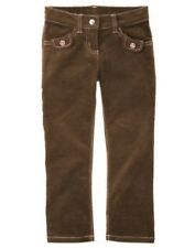 GYMBOREE KITTY GLAMOUR BROWN CORDUROY PANTS 4 5 NWT