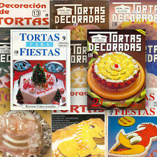 CAKE DECORATING EDITORA TRES books 1986 - 2001 Brazil