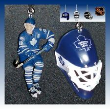NHL HOCKEY TORONTO MAPLE LEAFS MASK & CHOICE OF FIGURE JERSEY CEILING FAN PULLS