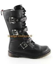 DEMONIA DISORDER-303 Punk Gothic Combat Women's Boots