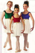 BALLET JEWELS Dance Lyrical Costume Ice Skating Dress CXS CS AS AL AXL