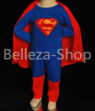 Superman Superhero Kid Costume Cosplay HALLOWEEN Fancy Party Size 2T-7 FC006