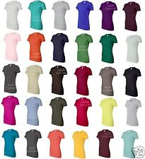 Bella Favorite Tee Longer Cotton T-Shirt 6004 S-2XL NEW