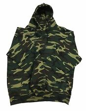 Big Camo L/S Fleece Hoodie Sweatshirts Small - 12XB Made in USA by Sovereign