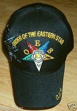 ORDER OF THE EASTERN STAR OES GENERAL GRAND CHAPTER MASON FREEMASONRY CAP HAT OS
