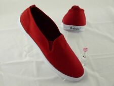Raben Shoes - Slip On - Red  - Size From 30 To 46