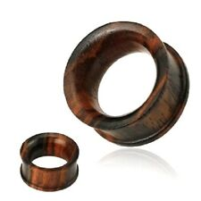 Organic Sono Wood Flared EAR Gauges PLUGS Flesh TUNNELS Rings Piercing Jewelry