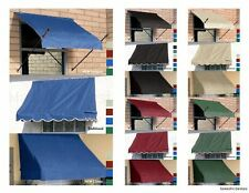 Awning for Window & Door 4',6',8' Awnings - Five Colors