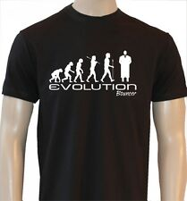 EVOLUTION OF A BOUNCER DOORMAN SECURITY T SHIRT OCC102